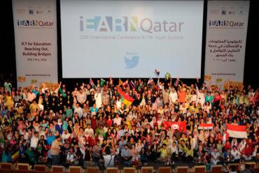 XX Conferencia iEARN no Qatar, uma experiência inesquecível