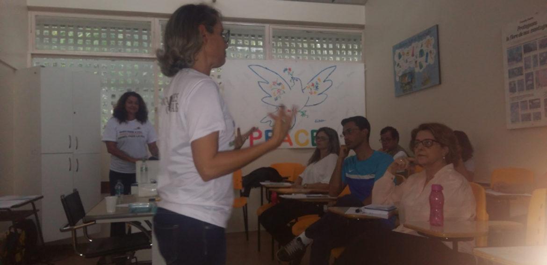 Oficina de formação no Fórum dos Centros Interescolares de Línguas