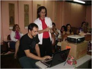 2008 – Workshop do projeto Vozes da Juventude para professores do CIL de Ceilândia.
