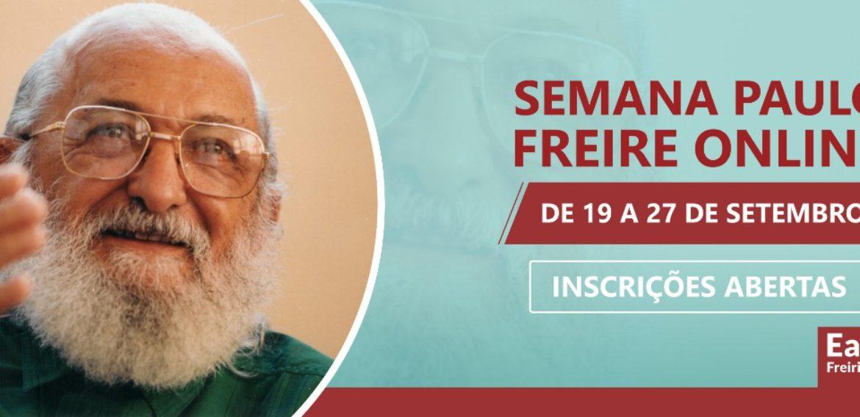 SEMANA PAULO FREIRE online