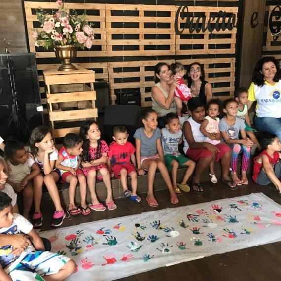 Dia da Criança 2019, Projeto Mãos para a Paz