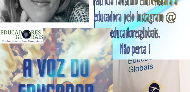 A voz do Educador, entrevista Isabel Teixeira